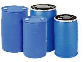 Emergency water storage barrels 1
