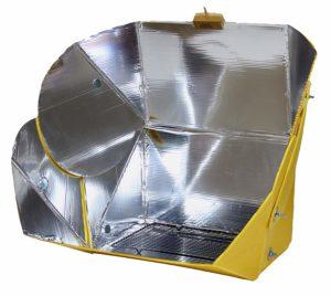 all season solar cooker camper